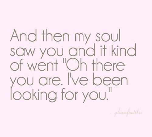 soulmate quote image