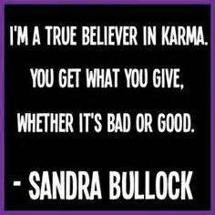 quotes about stealing and karma - true believer