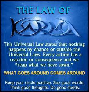 quotes about stealing and karma - law of karma